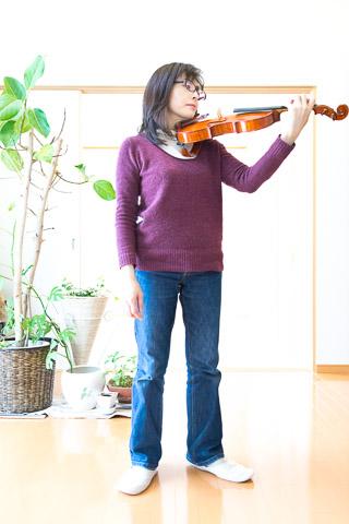 ヴァイオリン基礎あ