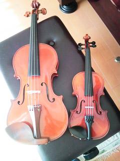 ヴァイオリン親子
